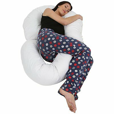 Love2Sleep BIG G PILLOW MATERNITY SUPPORT PILLOW/ FULL LENGTH BODY PILLOW