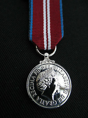 BRITISH ARMY,RAF,RN,RM, Queen's Diamond Jubilee 2012 Miniature Mess Dress Medal