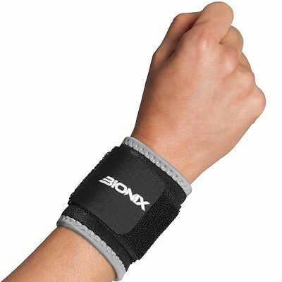 Bionix Neoprene Wrist Brace Support Adjustable Gym Weight training Bandage Strap