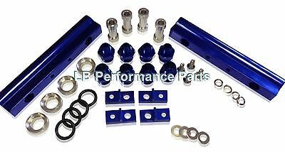 Uprated High Flow Fuel Rail for Subaru Impreza WRX STi EJ20 02-07 BLUE