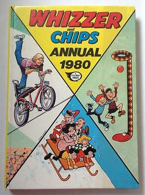Vintage Whizzer And Chips Annual1980