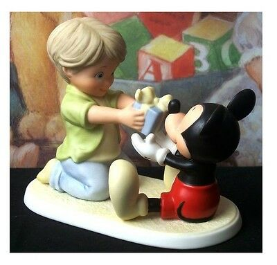 Disney and Me Mickey Mouse and Boy w/Present 4004003
