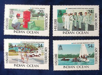 BIOT SC#111-4 MNH 1991 Government Services
