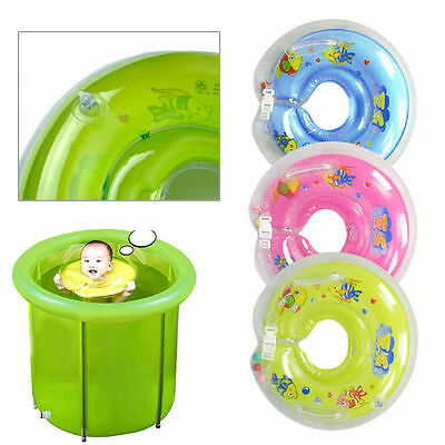 Brand New Baby Kids Infant Swimming Neck Float Ring Safety Neck  Inflatable