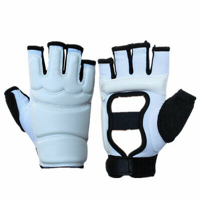 Pro Boxing Bag Training Kickboxing Sparring MMA Leather Gloves for Women Kids