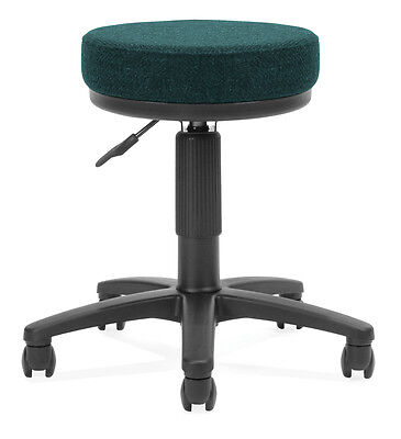 "OFM Utility Stool - 452-Teal 902-452 CHAIR 23.75"" D x 23.75"" W x 18.5"" - 22.5"" H"