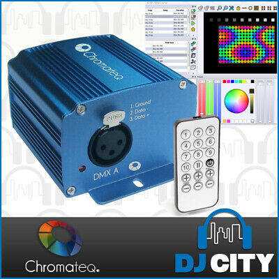 LP 512 Chromateq PC DMX Interface Led Player DMX 512 SOFTWARE