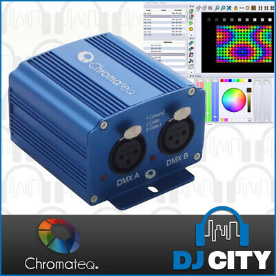 Club-DMX Chromateq DMX Interface with Software