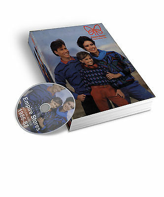 1986-87 Empire Stores Autumn & Winter Mail Order Catalogue Pdf & Jpeg On Dvd