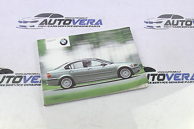 Bmw E46 3 Series Owners Handbook - Owners Manual - Owners Guide