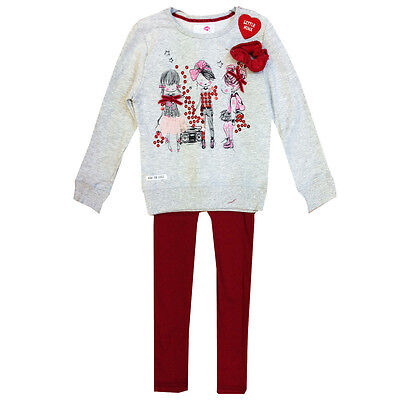 Minx Girls Long Sleeve Top and Legging Set 3-4 years - Brand New with Tags