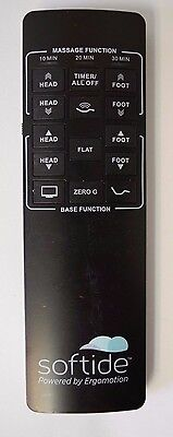 USED Softide Ergomotion 5100 Adjustable Bed REMOTE CONTROL Free Shipping