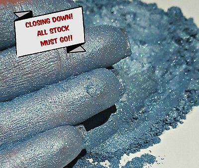 PRICE REDUCED! Pearlescent Mica Powder Pigment 10g - Cambridge Blue CLOSING DOWN