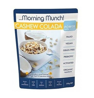 Power Super Foods Cashew Colada Morning Munch 275g