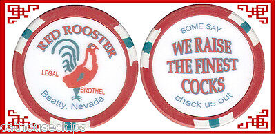 Red Rooster Beatty Nevada Brothel CAT HOUSE  Whorehouse Chip