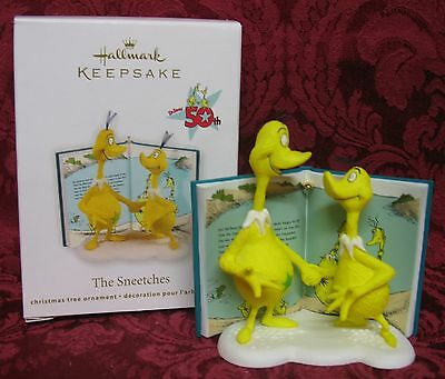 HALLMARK 2011 DR.SEUSS 50th ANNIVERSARY ORNAMENT~THE SNEETCHES