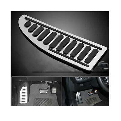 Ultra Non-Slip Aluminum Rubber Footrest Pedal Cover Pad For Ford Series Car New