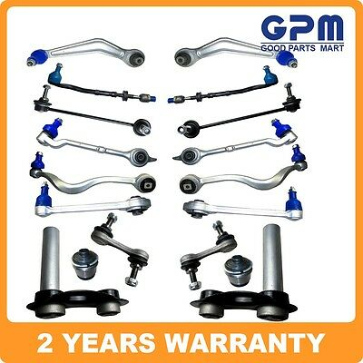 Front Rear Suspension Control Arm Wishbone Kit Fit for BMW E39 525 528 530 18pcs