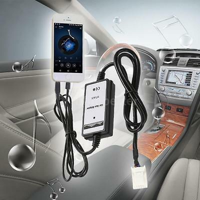 Car 3.5mm Aux in MP3 Audio Adapter USB Interface For Toyota Camry Corolla S4F0