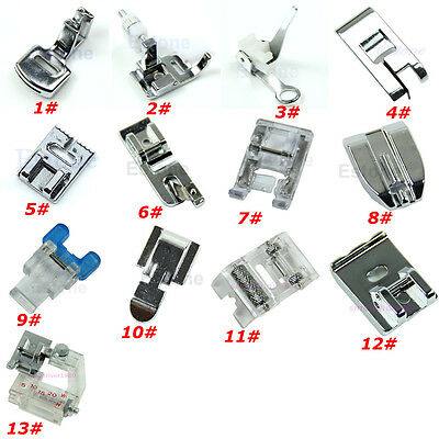 Presser Foot Feet For Brother Singer Janome Domestic Sewing Machine