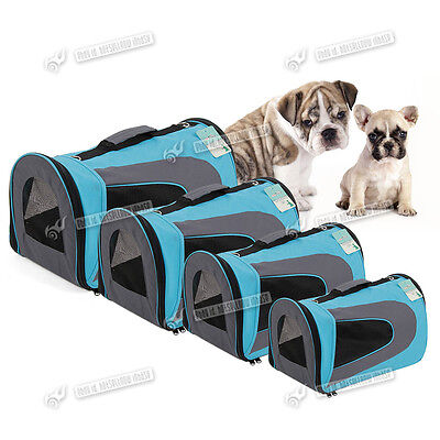 Fabric Soft Small Large Pet Carrier Bag Cat Dog Puppy Carrier Travel Kennel Cage