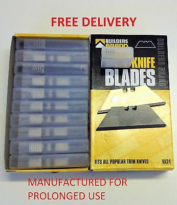 Stanley Blades Utility Knife Blade Quality Trimming Builders Brand