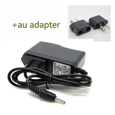 AU 6V 1A Power Supply Adapter Adaptor Charger DC AC 100-240V 3.5mm x 1.35mm