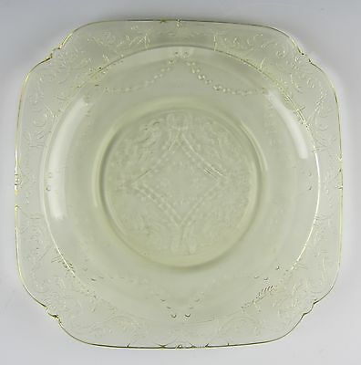 Federal Glass MADRID-AMBER Bread & Butter Plate(s) EXCELLENT