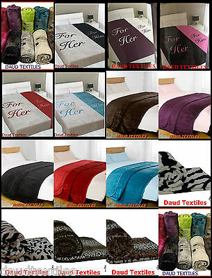 Faux Fur Fleece Throw Soft Roll Mink Throws Large Sofa Bed Blanket All Sizes