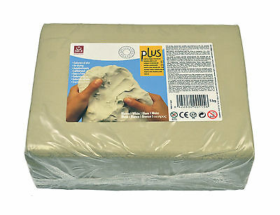 Air Hardening Clay White Air Drying Modelling Clay Natural