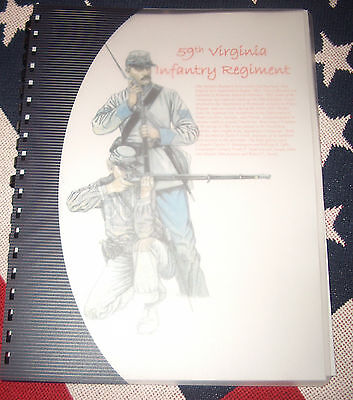 Civil War History of the 59th Virginia Infantry Regiment