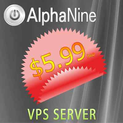 SPECIAL ! Virtual Private Server VPS 2048MB RAM TOTAL - Self Management Panel !