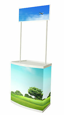 Easy Pop Up Promotion Display Table Counter + Free Bag