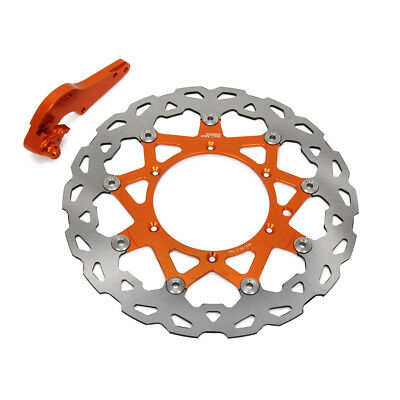 320 Floating Front Brake Disc Rotor + Bracket For KTM SX SXF EXC EXCF XC XCW XCF