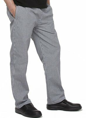 2 x Chef Pants DNC Checkered Elastic Drawstring Unisex All Sizes Uniforms