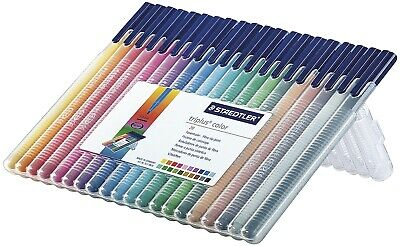 Staedtler® Fasermaler triplus® color 323 - ca. 1,0 mm, Box, 20 Farben