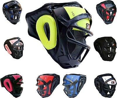 3XSports Grill Head Guard Bar Helmet Kick Boxing Gear Face Protection Headgear