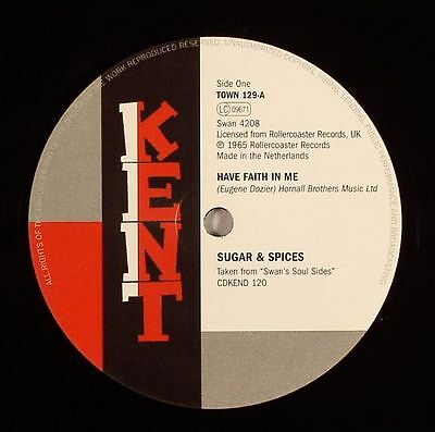 "SUGAR & SPICES/BRILLIANT KORNERS - Have Faith In Me - Vinyl (7"")"
