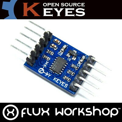 ADXL345 3 Axis Accelerometer Genuine Keyes Module I2C Arduino Pi Flux Workshop