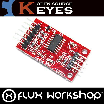 Weight Sensor HX711 Interface Genuine Keyes Module Arduino PI Flux Workshop