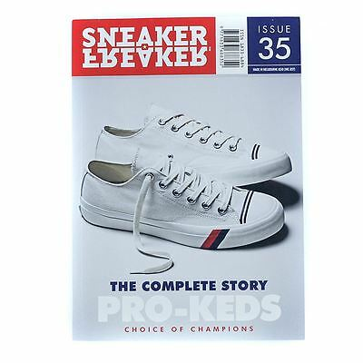 Sneaker Freaker Magazine Issue 35 Pro Keds Mag Cover New Free Delivery