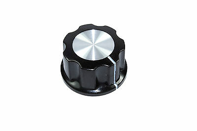 Control Knob 6mm Shaft Black Plastic MF-04 Potentiometer Encoder Flux Workshop
