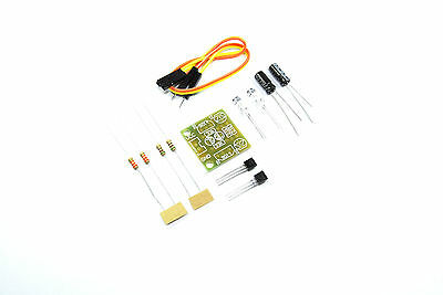 Flashing LED DIY Kit Capacitor unsolodered Dupont 5V Arduino Flux Workshop