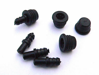 Small Speaker Grille Peg & Socket Loudspeaker Front Mountings set of 4 pegs clip