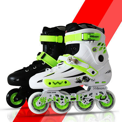 Cool Boys Girls Adult Roller Blades Inline Skates Adjustable Size Professional