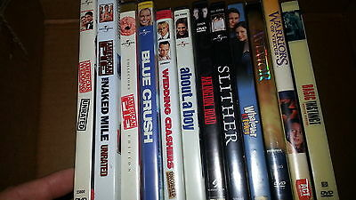DVD Wholesale Lot Count of 12