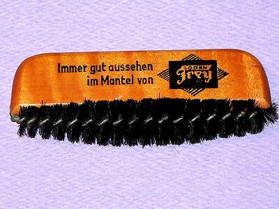 RARE Vintage Antique LODENFREY Coat Jacket Hand Lint Brush Advertising GERMANY