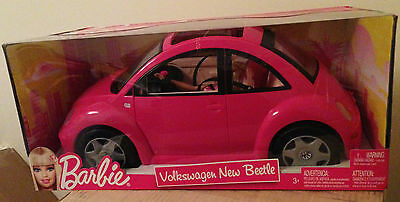 2013 Barbie Vw New Beetle With Doll