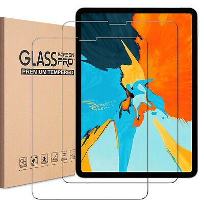 2x Tempered Glass Screen Protector For iPad 9.7 5th 6th 2 3 Gen Air 3rd Pro Mini