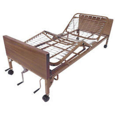 Drive Medical Multi Height Manual Hospital Bed 15003BV-PKG-2 New